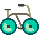 sport, transport, vehicle, sports, Bike, Bicycle, cycling, exercise Black icon