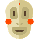 people, Avatar, Mask, Ethnic Tan icon