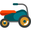 transport, Motorbike, Vespa, Motorcycle, Scooter DarkSlateGray icon