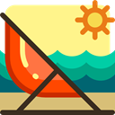 Chairs, Hammocks, Seat, Chair, seats, Hammock Khaki icon