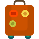 luggage, baggage, travelling, Tools And Utensils, suitcase Chocolate icon
