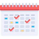 Calendar, time, date, Schedule, Time And Date, interface, Administration, Organization, Calendars AliceBlue icon