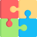 puzzle piece, Puzzle Pieces, Puzzle Game, gaming, education, Puzzle, marketing LightGreen icon