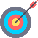 Arrows, Arrow, sport, Target, objective, Archery, weapons, archer, Seo And Web SlateGray icon