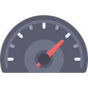 miscellaneous, speedometer, velocity, Tools And Utensils, Measuring DimGray icon