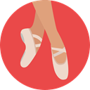 dancer, Ballet, Sports And Competition, Music And Multimedia, sports, Balance, Dance, Dancing Tomato icon
