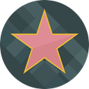Geometric Shape, Star Shape, Star Silhouette, Shapes And Symbols, cinema, star, geometry, Prize DarkSlateGray icon