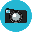 photo camera, Camera, photo, photography, technology, electronics, photograph LightSeaGreen icon