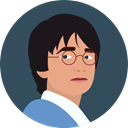 Face, user, Character, Avatar, harry potter DarkSlateGray icon