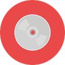 compact disc, Music And Multimedia, Multimedia, music, Dvd, Cd, music player, Bluray Tomato icon