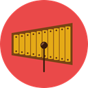 Percussion Instrument, Orchestra, Music And Multimedia, music, childhood, Xylophone, musical instrument Tomato icon