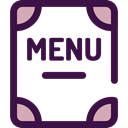 paper, food, menu, Restaurant, Print Products, Food And Restaurant Icon