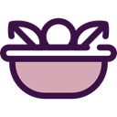 vegetarian, vegan, salad, Healthy Food, food, organic, vegetables, Food And Restaurant Icon
