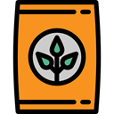 organic, gardening, Seeds, Fertilizer, Farming And Gardening DarkOrange icon
