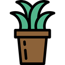 plant, nature, garden, gardening, ecology, yard, Botanical Black icon