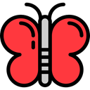 insect, butterfly, Animals, Moths Tomato icon