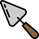 equipment, gardening, Tools And Utensils, Trowel, Farming And Gardening Black icon