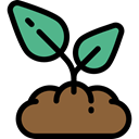 Tree, nature, gardening, Sprout, Growing Seed, Farming And Gardening Black icon