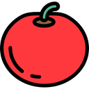 food, Fruit, organic, Healthy Food, Food And Restaurant, diet, Tomato, vegetarian, vegan Tomato icon