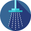 medical, Shower Head, Furniture And Household, bathroom, Shower, relax, hygiene DarkSlateBlue icon
