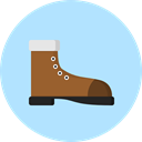 footwear, Boot, Clothes, Climbing, fashion PaleTurquoise icon