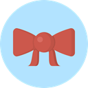 shapes, ornament, Ribbon, decoration, Bow, fashion, Kid And Baby PaleTurquoise icon
