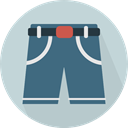 pants, Garment, Clothes, trousers, Shorts, fashion LightGray icon