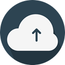 Computer, Cloud, weather, Cloudy, sky, Cloud computing DarkSlateGray icon