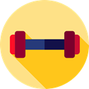 weights, exercise, Sports And Competition, weight, sports, fitness, gym, dumbbell Icon