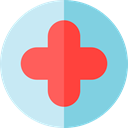 medical, cross, hospital, Pharmacy, signs, First aid, Health Care, Health Clinic, Hospitals, Healthcare And Medical SkyBlue icon