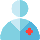Surgeon, profession, Occupation, Health Care, Professions And Jobs, Man, people, user, doctor, medical, Avatar, job SkyBlue icon