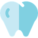 Health Care, Healthcare And Medical, Dentist, medical, Teeth, tooth SkyBlue icon