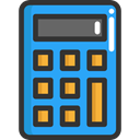 Business, education, calculate, buttons, finances, Business And Finance, tool, calculator DarkSlateGray icon