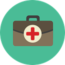 Health Care, Healthcare And Medical, doctor, medical, hospital, first aid kit Icon
