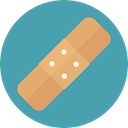 medical, hospital, Wound, Health Care, Health Clinic, Band Aid, Healthcare And Medical CadetBlue icon