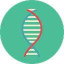 science, medical, education, Biology, dna, Deoxyribonucleic Acid, Dna Structure, Genetical, Healthcare And Medical CadetBlue icon