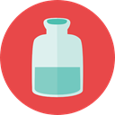 Flasks, Healthcare And Medical, science, education, Chemistry, flask, chemical, Test Tube Tomato icon