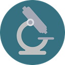 science, medical, Observation, scientific, microscope, Tools And Utensils, Healthcare And Medical SeaGreen icon