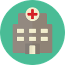 hospital, buildings, Health Care, Medical Assistance, Health Clinic, Healthcare And Medical CadetBlue icon