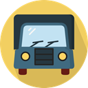 Delivery, Automobile, Delivery Truck, Cargo Truck, Shipping And Delivery, transportation, truck, transport, vehicle SandyBrown icon