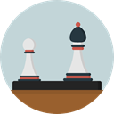 Game, chess, strategy, sport, Chess Board, Sports And Competition LightGray icon