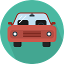 Car, transportation, transport, vehicle, Automobile CadetBlue icon