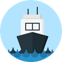 navigation, transportation, Boat, transport, ship, Navigational PaleTurquoise icon