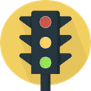 stop, light, Business, Traffic light, Road sign, buildings, Signaling, Stop Signal SandyBrown icon