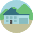 Home, house, Page, buildings, real estate LightBlue icon