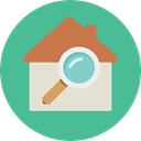 real estate, internet, Home, house, Page, buildings CadetBlue icon
