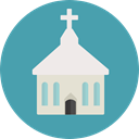 church, religion, temple, buildings, Chapel, christian, Monuments CadetBlue icon