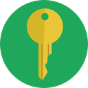 Home, house, real estate, Tools And Utensils, House Key, Key, security, keyword SeaGreen icon