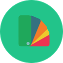 Colors, miscellaneous, paint, pantone, Painter, Color palette, Edit Tools, Paints, Art And Design LightSeaGreen icon