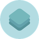 Layers, Edit Tools PowderBlue icon